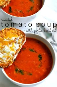 I know you're probably thinking it's way too hot to be eating soup right now, and you're so right! I was sweating while eating this the other night for dinner,