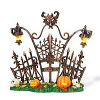"Department 56: General Village Halloween - ""Gothic Gate"" - #800027 - $35.00 - Intro Dec 2007"