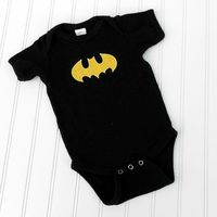 READY TO SHIP Onesie - Batman