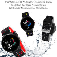 Bakeey X7 0.96inch Color Screen IP67 Heart Rate Blood Pressure Monitor Multi-sport Modes Smart Watch