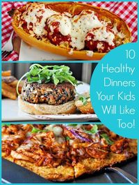 I hope you find a few new family favorites in this list of 10 healthy dinners kids will like too! Here we are at the start of a new year, and many of us have ma