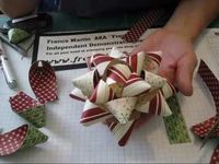 Gift Bow with stampin'Up! DSP www.frenchiestamps.com