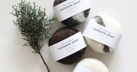 100% natural aloe soaps that are wrapped in 100% virgin wool. The anti-bacterial wool cover exfoliates and shrinks around the soap when bathing. Mixed with all natural essential oils with primary notes of ginger and lavender, followed by lemongras...