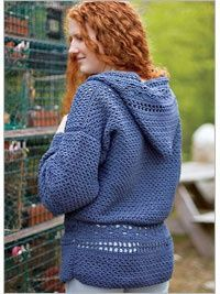 Easygoing Hoodie - fantastic pattern, I wish it didn't take quite so much yarn!!