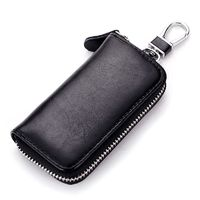 Price: $20.62 | Product: Genuine Leather Multi Function Key Case Fashion Key Wallet | Visit our online store https://ladiesgents.ca