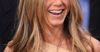 beautiful, straight teeth - jennifer aniston