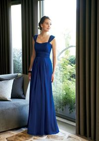 Blue Bridesmaid Dresses...love the style...maybe a different color though!