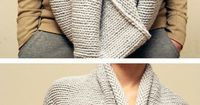 4 Different ways to wear a snood / eternity scarf.