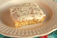 Easy Pineapple Sheet Cake. I love Sheet Cakes - great for Church PotLucks and whenever you have a crowd to feed. I have made chocolate, white, and peanut butter, but have never seen a pineapple one.