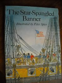 The Star Spangled Banner Illustrated by Peter Spier (1973) for sale at Wenzel Thrifty Nickel ecrater store