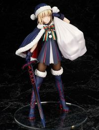 Fate/stay Night Saber Arturia Pendragon Christmas Action Figure $33.99