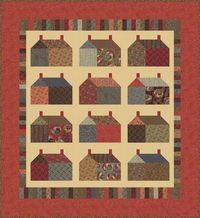 Barbara Brackman's MATERIAL CULTURE: Modernism: Free quilt pattern from Moda
