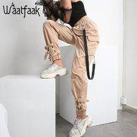 Price: $39.29 | Product: Casual Elastic Solid High Waist Pocket Long Harem Pants For Women | Visit our online store https://ladiesgents.ca