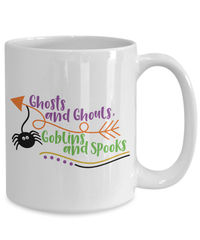 Ghosts and ghouls, goblins and spooks halloween $19.45