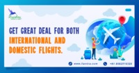 Flight Services are exponential services for every traveler who requires them. Being one of the best travel websites, Liamtra enhances the services of domestic flights as per the needs of the customers.