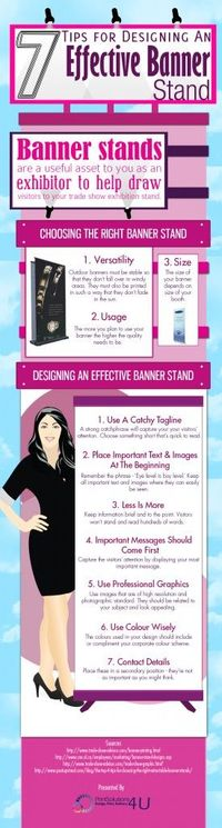 6 Tips For Designing An Effective Banner Stand