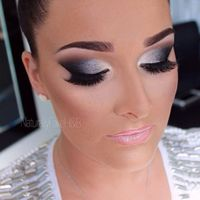 Dancesport MakeUp   Great contouring on the cheeks and eye makeup with a bold brow!