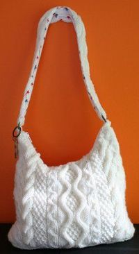 This is one of those knitting cable patterns that's great for a variety of seasons. Because the Fallen Snow Cable Bag does feature multiple cable patterns, it's best for an intermediate level knitter. To stabilize the shape of the bag, add a fabri...