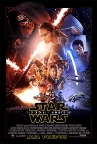 Star wars the Force Awakens funny poster