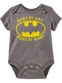 """DC Comics�""""� Batman Bodysuits for Baby 