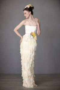 Ruffled gown - this whole website is full of incredible stuff.
