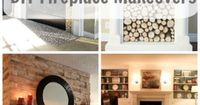 25 Best DIY Fireplace Makeovers |