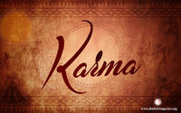 Give what you would want to receive. That is the principle of karma. Karma means action. What is reaction? That is the echo. All reactions are like 'echoes' of your previous actions; the fruits will be inevitable. What does the well illustrate...