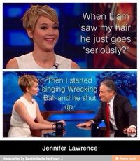 jennifer lawrence, go girls and balls.