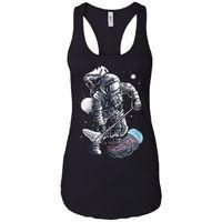Astronaut Jellyfish - Astronauts Art - Women's Racerback Tank Top $19.97