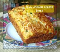 Spicy Cheddar Cheese Quick Bread