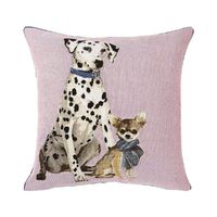 Tuileries Duo Poudre Throw Pillow $120.00