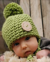 Railynn Baby Crochet Hat