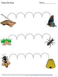 Summer Tracing Activities. In this no prep tracing packet, students will trace straight lines, curvy lines and zigzag lines. These activities will help your students develop fine motor skills. These worksheets work well for preschool, kindergarten, specia...