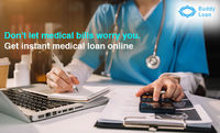 Claim your Instant Medical loan online with the least documentation. And, get Instant Medical loan with the low-interest rate at Buddy Loan in India. Jog through the panel. Apply now https://bit.ly/Medical Loan Buddy Loan