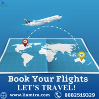 Book Cheap and Best Flights on Liamtra