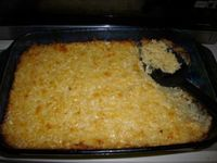 I love Cracker Barrels hash brown potatoes/potato casserole so I thought I would share this recipe I found on copykat.com.
