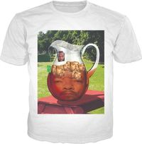 Mr. T Ice-T With Ice Cubes Classic T-Shirt $19.95