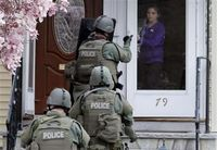 Gunfire heard in search for Boston Marathon bomb suspect