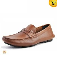 Edmonton Leather Loafers Driving Shoes CW740306