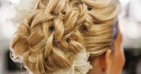 braided updo.... LOVE! No idea how they did this though. Lol