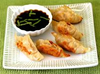 Make your own Pot Stickers, easy, healthy, fun!