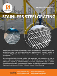 Stainless Steel Grating Manufacturer in Singapore