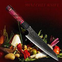 "Chef Knife 6"" Japanese Kiritsuke Shape Mini Chef Knife Kitchen Home Tool $98.70"
