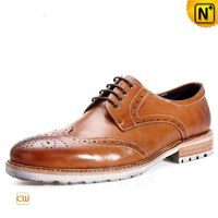 CWMALLS® Mens Wingtip Oxfords Dress Shoes CW716022