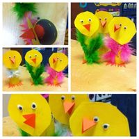 These are funny little craft for class.