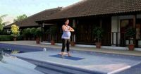 Prenatal Yoga with Lara Dutta - Routine. such a relaxing routine, gotta stay active even when feeling like a beached whale:)