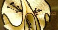crochet flower, graph