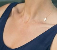 Dove Sliver Gold Plated Simple Chain Bar Statement Choker Necklace Peace Dove Charm Pendant Necklaces Women Jewelry Gift $80.32