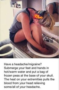 How To Get Rid Of Headaches Or Migraines