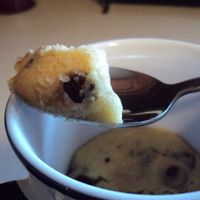 Chocolate Chip cookie in a coffee cup Recipe | Just A Pinch Recipes
